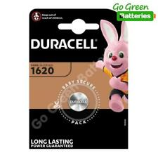 1 x Duracell CR1620 Coin Cell Battery 3V Lithium DL1620 1620 BR1620 ECR1620 NEW