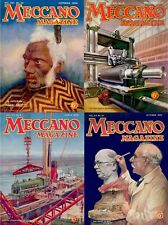 197 ISSUES OF MECCANO MAGAZINE - HOBBY MECHANICAL TOYS VOL.1 (1916-1936) ON DVD