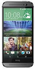 HTC One M8 Smartphone Metallgrau