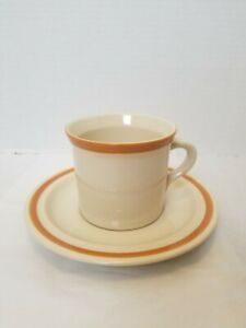 2 Vtg. COFFEE CUP/MUG SETS JI STONECREST  Andre Ponche Designer Stoneware