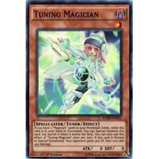 YU-GI-OH! BREAKERS OF SHADOW * BOSH-EN001 Tuning Magician