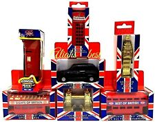 Metal London Model Bus Taxi Big Ben Post Box Telephone Tower Bridge Souvenirs UK