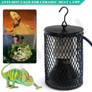 Ceramic Heat Lamp Holder Anti-Hot Cage Reptile Light Switch Chicken Brooder