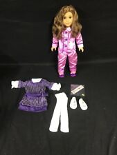 American Girl Doll REBECCA With Pajamas And Hanukkah Dress