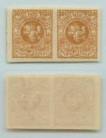 Lithuania 🇱🇹 1919 SC 53 mint imperf pair . d4616
