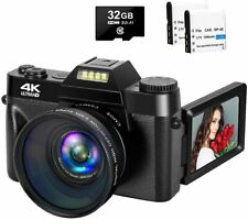 4K Camera Digital Camera 48MP Vlogging Camera with YouTube 30FPS Video Camera Ca