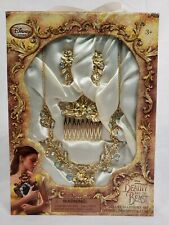 Disney Beauty and the Beast Deluxe Accessory Set Necklace Earring Comb Jewelry