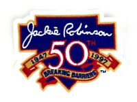 Los Angeles LA Dodgers Jackie Robinson 50 Years Breaking Barriers Patch