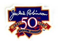 Los Angeles LA Dodgers Jackie Robinson 50 Years Breaking Barriers Patch