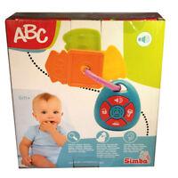 Simba ABC Schlüsselbund Motorik Rassel Kinder Baby Autoschlüssel