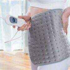 claming Heat pad Microplush Electric Heating Pad for Abdomen Waist Back Warmer