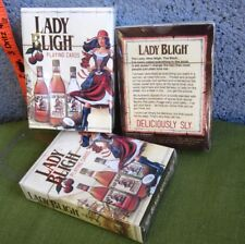 Lady Bligh playing cards Spiced Rum female pirate deck Nwt sexy booze Luxco
