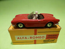 METOSUL  1:43  ALFA ROMEO GIULIETTA SPIDER  -   IN BOX   -  IN GOOD CONDITION