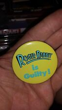"Who Framed Roger Rabbit 1988 Movie Theater Pin Badge Promo 2"" Button Pin Back"