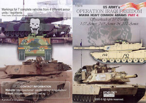 Echelon T35016 1/35 US Army M1A1HA in OIF (Various Units)