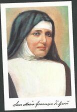 Estampa de Sor Maria Francesca andachtsbild santino holy card santini