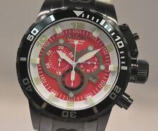 New Mens Invicta 80218 Corduba Chronograph Pink Dial Ibiza Diver Two Tone Watch