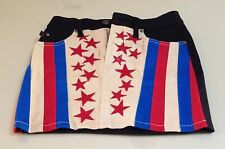 Tripp NYC Skirt American Flag XS Mini