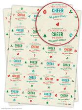 Brainbox Candy Noël Papier emballage Cadeau 2 feuilles Humour grossier Blague