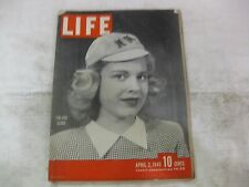 Life Magazine April 2nd 1945 Sub Deb Clubs Publisher Time mg160