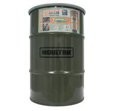 New Moultrie 30 Gallon Pro Magnum 360° Hanging Metal Barrel Deer Feeder w/ Timer