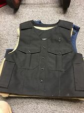POINT BLANK Body Armor Removable Tactical Carrier Vest Size MED NAVY NEW uniform