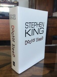 Doctor Sleep Remarqued Signed Limited Stephen King Rare
