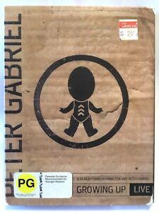 PETER GABRIEL Growing Up Live DVD - AS NEW