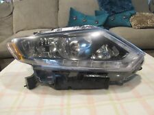 2014 2015 2016 NISSAN ROGUE PASSENGER RIGHT SIDE OEM HALOGEN  WITH LED HEADLIGHT