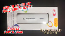 ROUTER WIRELESS 3G HOTSPOT POWER BANK ANDROID IPHONE NO SIM CARD