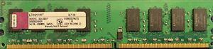 2Go KVR800D2N6/2G PC2-6400U DDR2 800MHz 240Pin Kinston