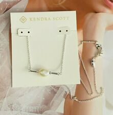 Kendra Scott  Ivory Pearl silver Necklace