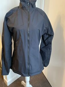 Womans Ladies Musto Size M 10 COAT JACKET Black Waterproof Wind proof NWOT