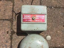 Vintage Fire Alarm Bell 12v Tested Working