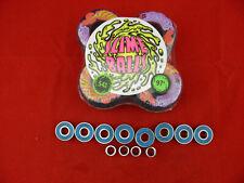 Santa Cruz Slime Ball Wheels Vomit Mini 54mm 97A + abec 11's