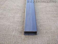 Mild Steel Box 50mm x 25mm x 2.5mm - 1000mm lg - Rectangular Tube
