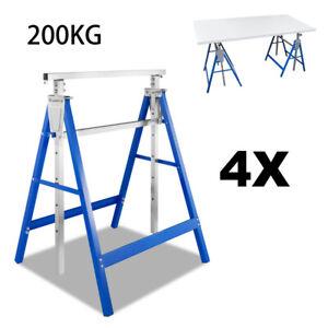 Gerüstbock Arbeitsbock 4x Gerüstböcke Metallbock Stahl Gerüst Deckenarbeiten