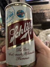 1960s Schlitz Aluminum Soft Top Beer Flat Top Beer Can Los Angeles California 12