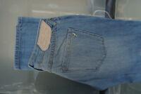DIESEL 55 Damen Women Straight Leg Jeans Hose 27/32 W27 L32 hellblau NEU ad22