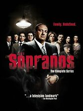 THE SOPRANOS COMPLETE SERIES SEASONS 1, 2, 3, 4, 5 & 6 DVD BOX SET New & Sealed