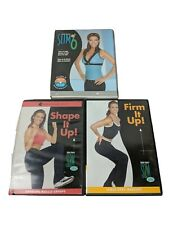 Debbie Siebers Slim In 6 Beachbody Training Workout Dvd Lot of 3 Cardio Strength