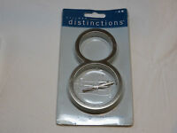 Hillman Distinctions 843218 5 inch Brushed Nickel floating house number **** # 8