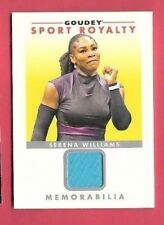 SERENA WILLIAMS Event USED TENNIS MEMORABILIA RELIC CARD GOODWIN GOUDEY ROYALTY