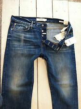 Mens Lucky Brand LEGEND Jeans 1 Authentic Skinny 36X32 Selvedge USA