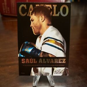 2021 CANELO ALVAREZ Boxing Card | Spanish Version | RARE