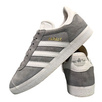 Adidas Gazelle Women's Shoes Size Uk 5 Grey Suede Casual Sports Trainers EUR 38