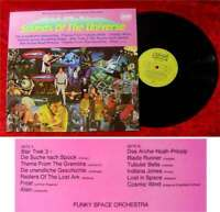LP Funky Space Orchestra: Sounds of the Universe - Science Fiction & Action Hits