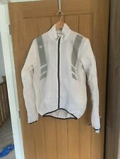 Sportful Men's Windproof White Cycling Jacket. Size Large.