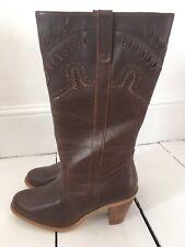Principles Brown Cowboy Western Boots Size 7 BNIB Cost £45