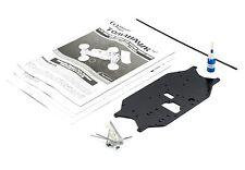 THUNDER TIGER TOMAHAWK ST 1/10 Aluminium chassis manual tools + loctite